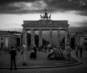 Brandenburg Gate in Berlin, a happy accident in photography
