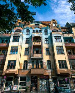 Apartment building in Berlin Kreuzberg